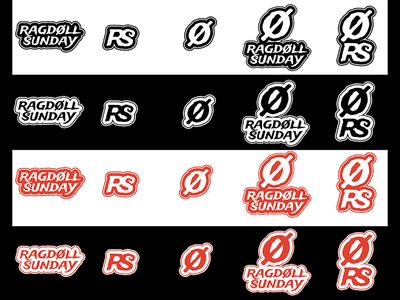 RAGDOLL SUNDAY BRAND IDENTITY & LOGO DESIGN: logo designs