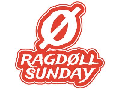 RAGDOLL SUNDAY BRAND IDENTITY & LOGO DESIGN: combination logo