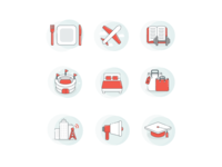 Yelp WiFi Industry Icons