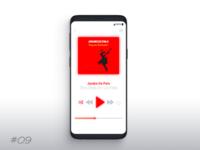 Daily UI#009 Music Player