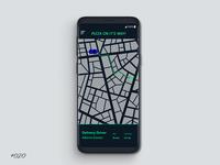 Daily UI 020 Location Tracker