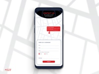 Daily UI 028 Contact Page