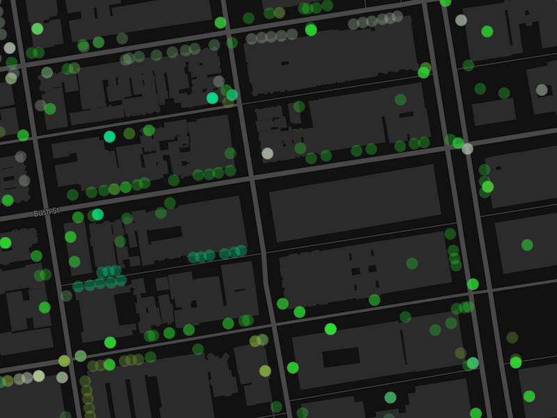 San Francisco Tree Map gis san francisco trees map