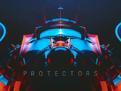 Protectors digitalart b3d octane render