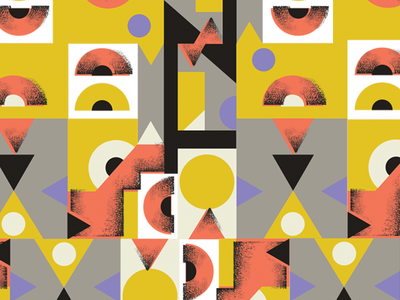 Stacked Snippet geometric primary label pattern
