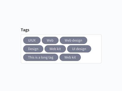 Tags tag tags design-system web-design web