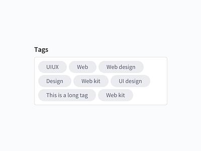 Tags - Lighter tag tags design-system web-design web