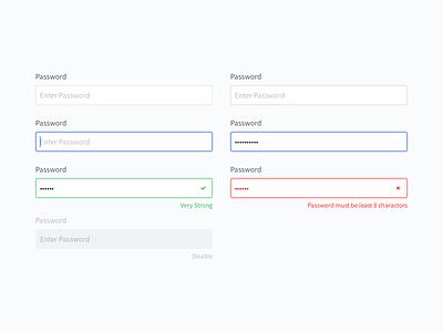 Input Field input field input form design-system web-design web