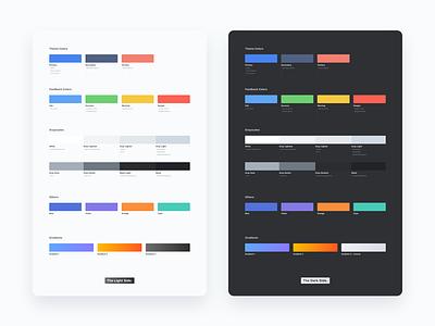 Palettes uiux color design-system palette