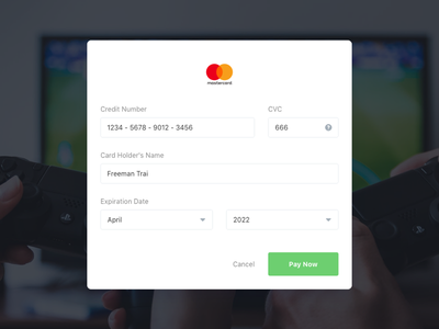 DailyUI 002 - Credit Card Checkout dailyui design-system uiux web payment