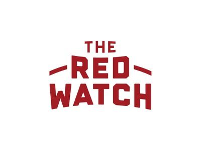 The Red Watch Logotype hunter oden logotype lockup soccer athletic