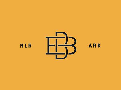 BB Monogram hunter oden flat monogram vintage arkansas