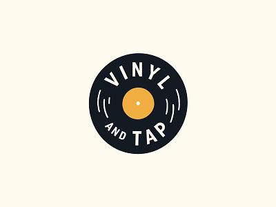 Vinyl And Tap hunter oden record beer vinyl flat arkansas
