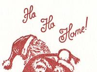 Santa Claus Letterpress