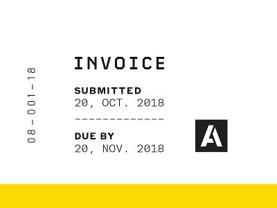 Invoice/Receipt Deets monospace type agdg numerals data invoice receipt technical tech typography