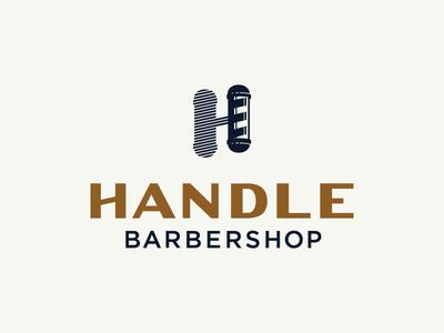 Handle Barbershop Logo