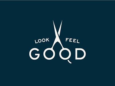 Handle Barbershop Brand Assets barbershop flat typography lockup hunter oden