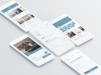 Interior sharing application interface design
