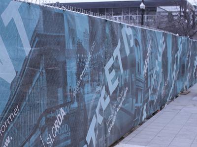 On Regent Street Environmental Graphics