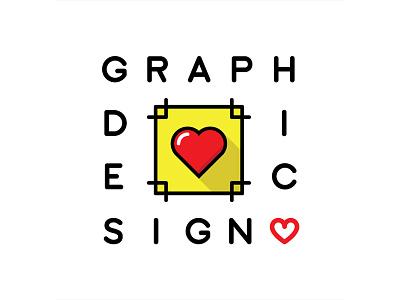 Graphic Design Love heart bleed love design graphic