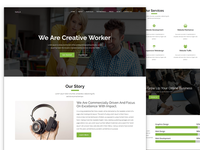 Agency Website Template