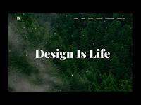 Fresh landing page Design