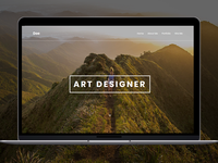 Website for art Designer