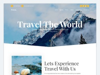 Travas - Travel agency landing page Update