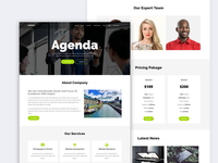 Agenda - One Page MultiPurpose Template