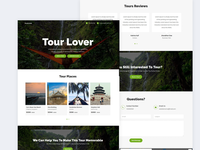Tourlover   Travel Agency Landing Page Template