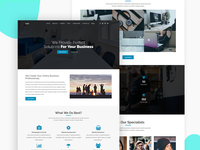 Lean   One Page Multipurpose Template