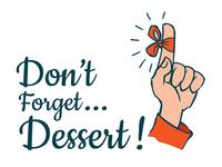 Don't Forget Dessert Logo