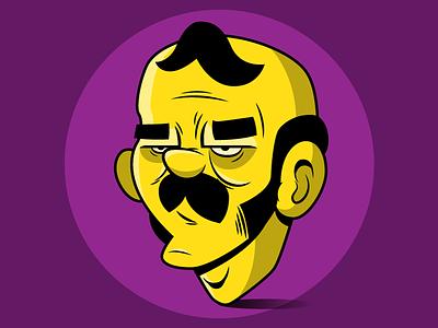 Smithen simple flinstones sketch cartoon character