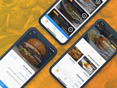 Local Delivery App Redesign Concept