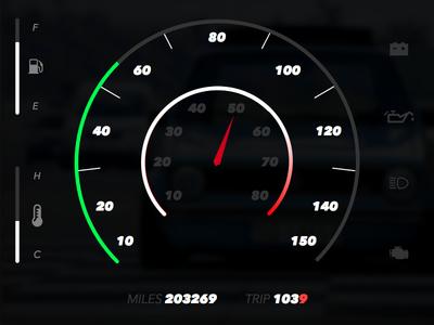 Daily UI - 034 - Car UI