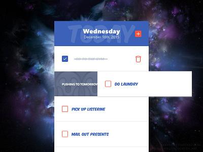Daily UI - 042 - ToDo List checklist list todo dailyui