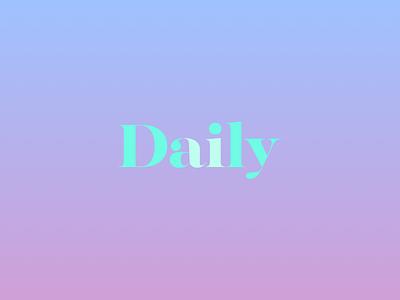 Daily UI - 052 - Daily UI Logo branding 052 dailyui logo