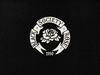 Black Rose Society Crest
