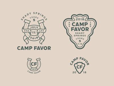 Camp Favor Branding