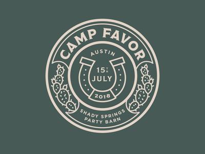 Camp Favor Branding Final