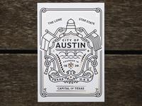 MOO | AIGA Austin SXSW Postcard
