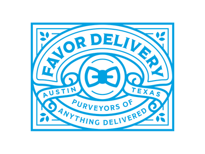 Favor Patch patches patch texas monoline illustration delivery favor