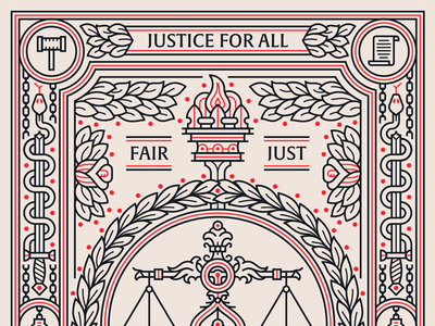 I Heart Justice Poster