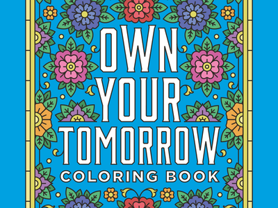Charles Schwab Adult Coloring Book