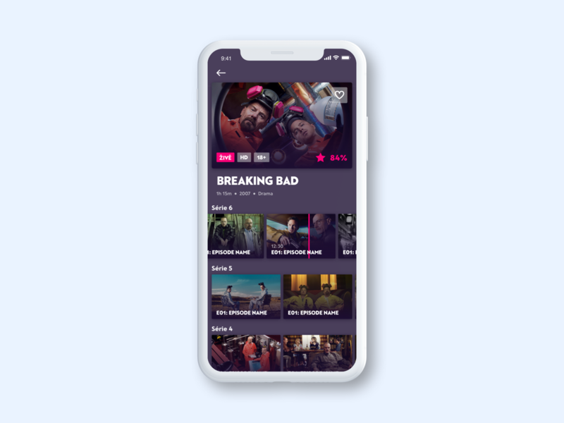 Kuki TV - Mobile App TV SHOW Detail by Tomas Pohl for
