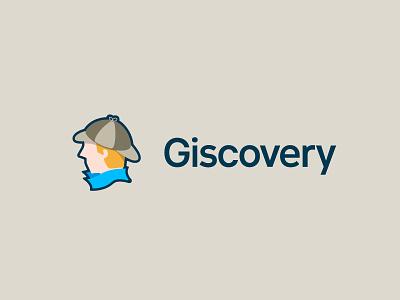 Giscovery Logo discover gis sherlock logo