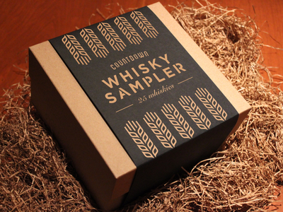Whiskey Sampler Advent Calendar