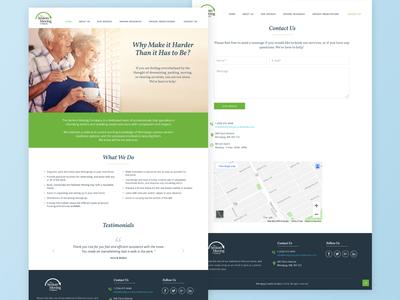 Senior Moving Company Website Redesign
