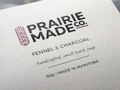 Prairie Made Co. Handcrafted Soap Logomark