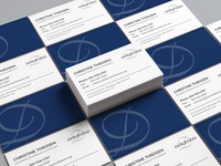 Donwood Manor Care Home Business Cards Redesign